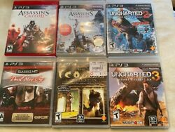 Ps 3 Video Game Bundle Good Condition