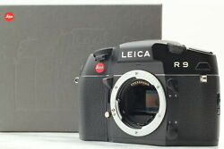 [ Mint In Box ] Leica R9 35mm Slr Film Camera Black Body From Japan
