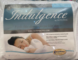 Indulgence® by Isotonic® Down Alternative Side Sleeper Pillow Queen
