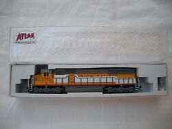 Atlas 49071 Sd-60 Sd60, Union Pacific Up 5985, Diesel Locomotive Engine, N Scale
