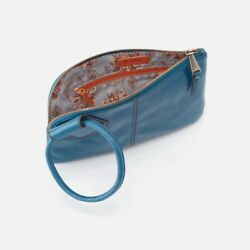 Hobo Sable Wristlet In Riviera VI 35036RIV 100% Genuine Leather $89.95