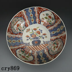 Old China Antique The Ming Dynasty Porcelain Blue And White Color Painting Bowl
