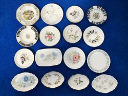 Collection Of Sixteen 16 Wedgwood Trinket Pin Dishes Trays Ashtrays And Coasters