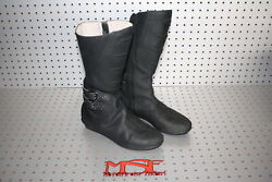 Icon Womens Sacred Boots Motorcycle Boots Size 8 Us