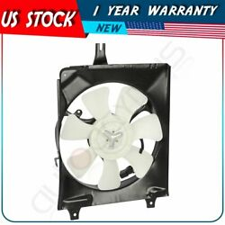 Electric A/c Condenser Fan Assembly For 1994 1995 1996 1997 Honda Accord