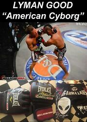 Lyman Good-american Cyborg- Signed/autographed/owned Match Worn Gloves And Shorts
