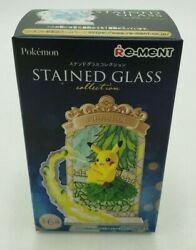 Pokemon Stained Glass Collection Umbreon Collectible Re-ment New Open Box