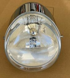 Harley Davidson 2006 Vrscse Vrod Screaming Eagle Oem Headlight W/ Chrome Bucket