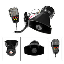Yhaavale 5-7 Sound Car Siren 100w Horn Alarm Speaker Mic System For Motorcycle