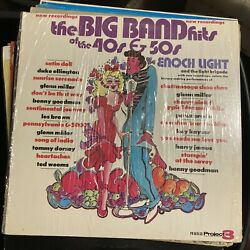 Big Band Hits Of The 40andrsquos And 50andrsquos Enoch Light Orchestra Jazz Lp Glenn Miller