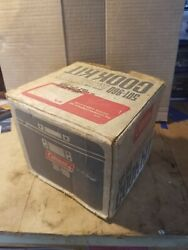 Vintage Coleman 501-960 Cooking Kit W/ 502 Stove And Box From Sept. 1979