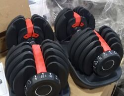 Dumbbell Set And Adjustable Weight Bench
