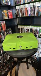 Rare Original Xbox Mountain Dew Limited Edition Console Tested And Working Great