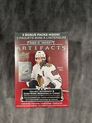 2020-2021 Upper Deck Artifacts Hockey Blaster Box Factory Sealed Rare Sold Out