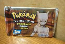 Topps Trading Cards Pokemon The First Movie Sealed Pack