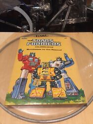 Transformers Coloring Book 'bumble Bee To The Rescue' 9/10. No Marks, No Folds.