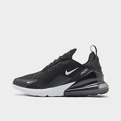 Mens Nike Air Max 270 Casual Shoes Black/anthracite/white/solar Red
