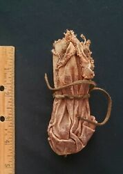 Native American Indian Medicine Pouch From Medicine Bag Parfleche 19th Century