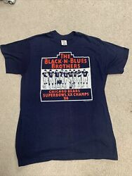 Vintage 80s Blues Brothers Chicago Bears Super Bowl Xx Champions Large 42-44.