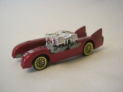 Hot Wheels Red Double Vision, Very Good Condition, Dated 1998 012-13