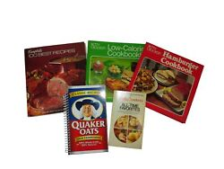 Brand Name Products Recipe Cookbooks Betty Crocker Campbell Quaker Oats Lot Of 5