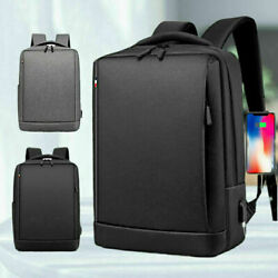 Us New Fashion Men Canvas School Backpack Casual Notebook Travel Laptop Bag 2021