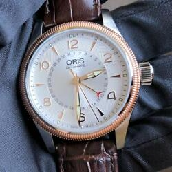 Oris Wriswatch Big Crown Pointer Date Unused Items With Box Shipping From Japan