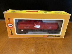 Vintage Cox Ho Scale Electric Trains Fire Car Big Pine Fire Fighting 6140-4 Vtg