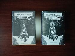 Very Rare First Bulgarian Edition The Lord Of The Rings J.r.r.tolkien 2 Volumes