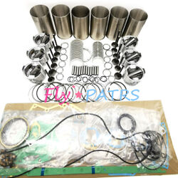 Overhaul Rebuild Kit For Komatsu Engine 6d140 Sa6d140 Bulldozer D155ax-5