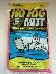 Cadie Products No Fog Mitt Stops Windshield Fogging 57 Sq In 6x9.5 In New Sealed