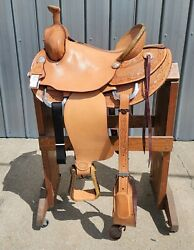 Ss2 - Brand New 15.5 Billy Cook Ranch Roping Saddle New With Tags