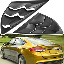 For Ford Fusion 2013-2020 Side Window Louver Windshield Sun Shade Cover Vent Abs