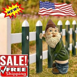 Fairy Garden Gnomes Naughty Funny Nude Gnome Miniature Statue Christmas Gift