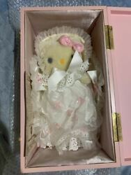 2003 Hello Kitty Hermann Mohair Doll Plush Toy Limited 350 Serial Number Sanrio
