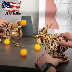 Robotime Rokr Diy 3d Medieval Siege Weapons Wooden Puzzle Game Assembly Toy Gift