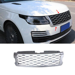 For Range Rover L405 2018-2020 Front Bumper Center Hood Grill Mesh Replacement