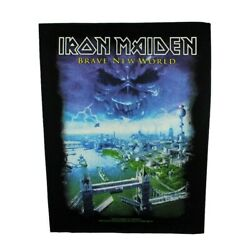 Xlg Iron Maiden Brave New World Back Patch Heavy Metal Band Sew On Applique