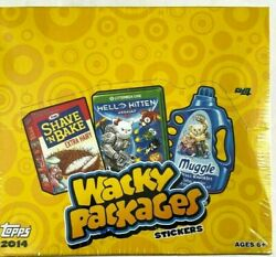 2014 Topps Wacky Packages Stickers Retail Box