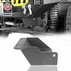 Steering Box Skid Plate Protector Guard Trim Iron Fit Jeep Wrangler Tj 1997-2006