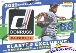 2021 Donruss Baseball Exclusive Huge Factory Sealed Blaster Box With 88 Cards