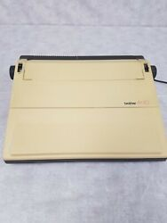 Vintage Brother Electric Typewriter, Ax-10, Daisy Wheel, Demo Pic, Handle