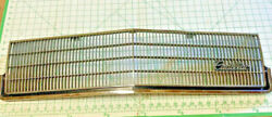Front Grille 1985-86 Cadillac De Ville - Original Oem With Mounting Screws