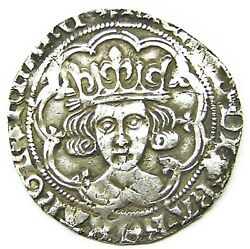 1483-1485 Ad Medieval England Silver Groat Of King Richard Iii London Sun And Rose