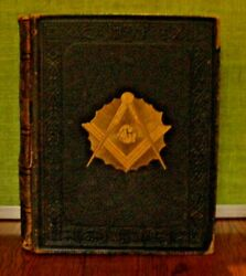 1901 Vol. 1-the Illustrated History Of Free Masonry-great Find-see Description