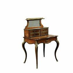Small Napoleon Iii Writing Desk With Riser France Second Half Of The 19th...