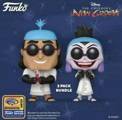 Preorder 2021 Wondercon Funko Pop Emperors New Groove Kronk And Yzma 2pack