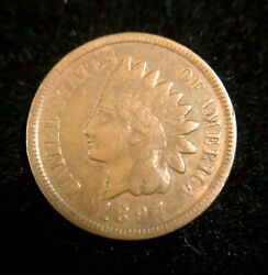 1897 Indian Head Penny- Snow I 1 In Neck