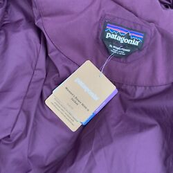 Nwt Womens Xl Down With It Jacket Deep Plum Hooded Zip Snap