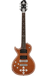 Zemaitis Made In Japan A24su Lefty Natural Pearl Heart Electricguitar Hardcase